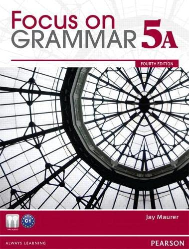 9780132169820: Focus on Grammar Split 5A with MyEnglishLab: Student Book