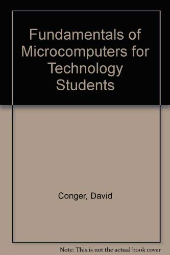 9780132170192: Fundamentals of Microcomputers for Technology Students