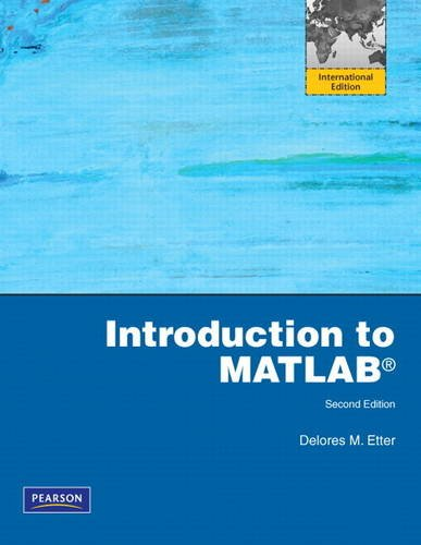 9780132170659: Introduction to MATLAB: International Edition