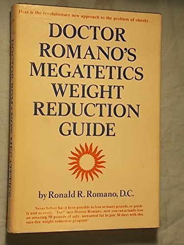 9780132170918: Doctor Romano's Megatetics Weight Reduction Guide