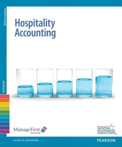 9780132175241: ManageFirst: Hospitality Accounting with Answer Sheet (2nd Edition) (Managefirst Program)