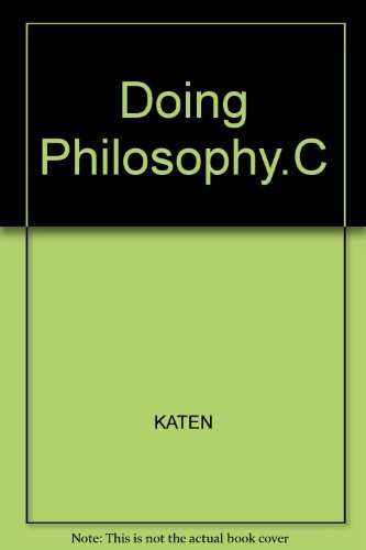 9780132175708: Doing Philosophy.C
