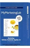 9780132175920: NEW MyMarketingLab with Pearson eText -- Access Card -- for Marketing: Defined, Explained, Applied