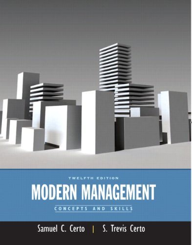 9780132176316: Modern Management: Concepts and Skills