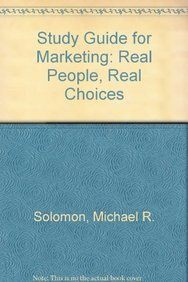 9780132177108: Study Guide for Marketing: Real People, Real Choices