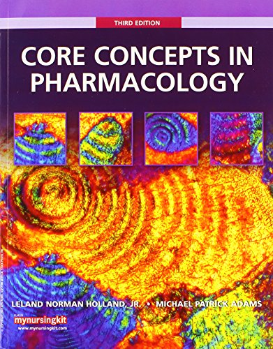 9780132178549: Core Concepts in Pharmacology with Student Workbook and Resource Guide (3rd Edition)