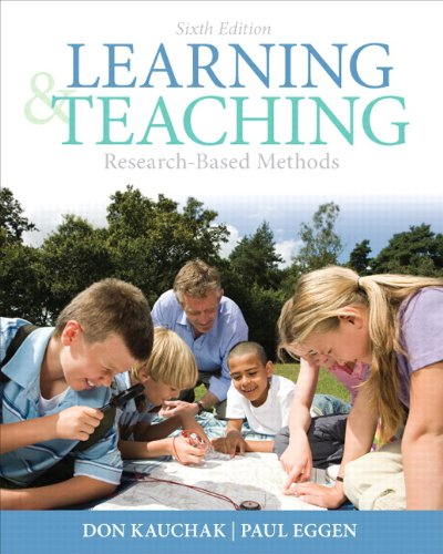 9780132179348: Learning and Teaching: Research-Based Methods