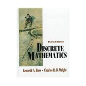 9780132181570: Discrete Mathematics