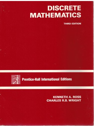 9780132182072: Discrete Mathematics