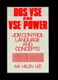 9780132186292: Dos/VSE and Vse/Power: Job Control Language and Concepts