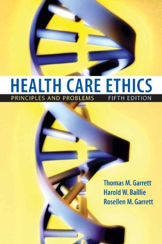 9780132187909: Health Care Ethics: Principles and Problems