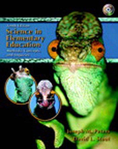 9780132192842: Science in Elementary Education & A Sampler of National Education Standards Package (10th Edition)