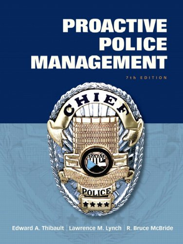 9780132193689: Proactive Police Management (7th Edition)