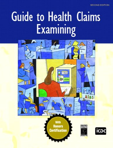 9780132194082: Guide to Health Claims Examining (2nd Edition)