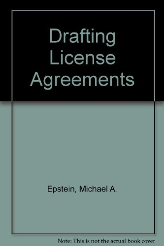 9780132194112: Drafting License Agreements