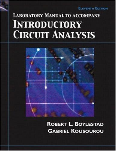 9780132196154: Introductory Circuit Analysis: Laboratory Manual