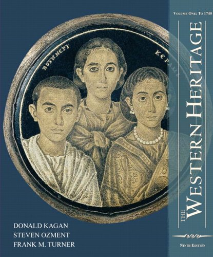 9780132197199: The Western Heritage: Volume 1 (9th Edition)