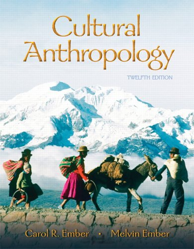 9780132197335: Cultural Anthropology