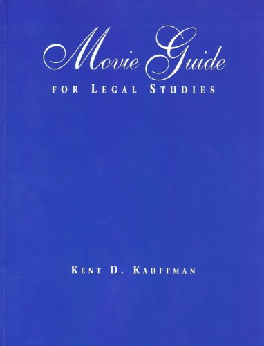 9780132197625: Movie Guide for Legal Studies