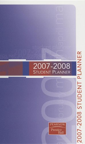 9780132199902: Premier Annual Planner 2007-2008