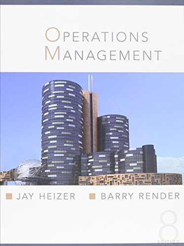 9780132200745: Operations Management and Student CD & OneKey Blackboard Student Access Kit Pkg (8th Edition)