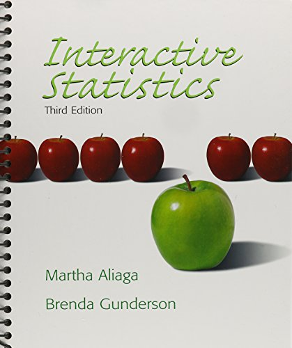 9780132200950: Interactive Statistics with Student Solutions Manual and TI-83 Plus/Silver Manual (3rd Edition)