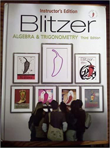 9780132201841: Algebra and Trigonometry