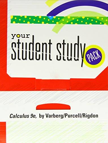 9780132203234: Student Study Pack for Calculus