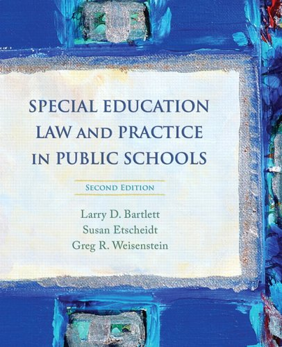 9780132207140: Special Education Law and Practice in Public Schools (2nd Edition)