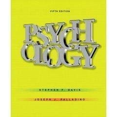 9780132208383: Psychology Study Guide Fifth Edition