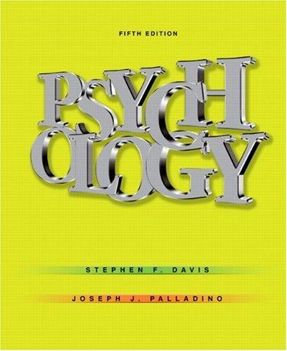 9780132208406: Psychology (5th Edition)