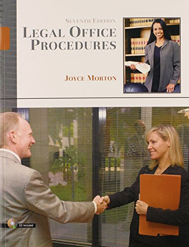 9780132209564: Legal Office Procedures (7th Edition)
