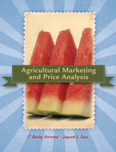 9780132211215: Agricultural Marketing and Price Analysis