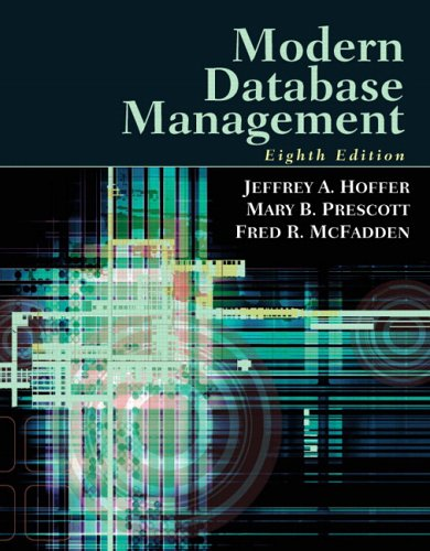 9780132212113: Modern Database Management (8th Edition)