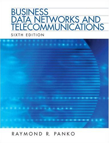9780132214414: Business Data Networks and Telecommunications (6th Edition)
