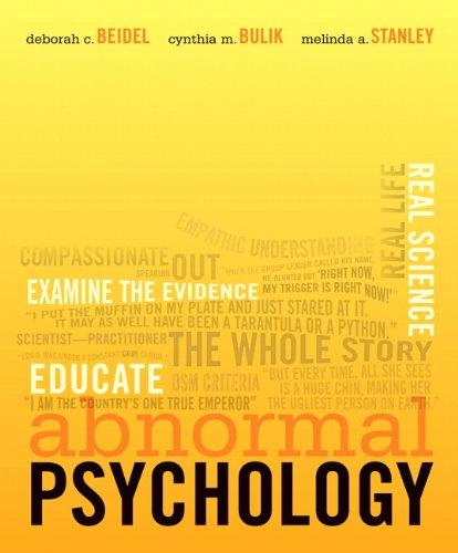 9780132216128: Abnormal Psychology