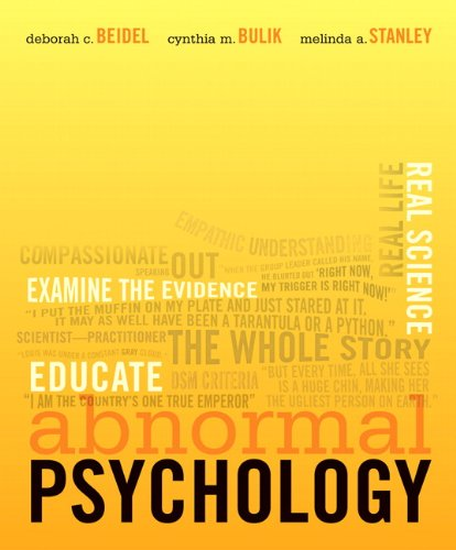 9780132216128: Abnormal Psychology
