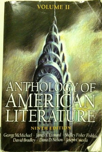 9780132216470: Anthology of American Literature Volume II (Anthology of American Literature)