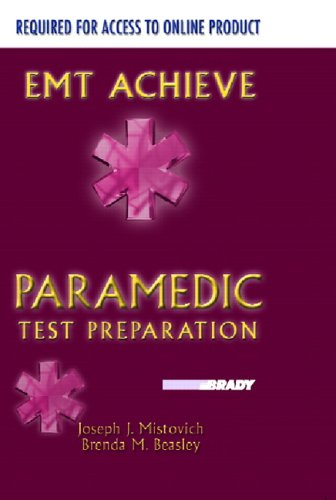 9780132217378: EMT-Achieve: Paramedic Test Preparation - Student Access Code Package