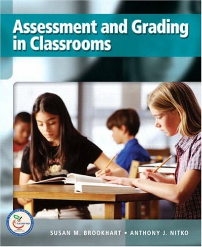 Assessment and Grading in Classrooms: Brookhart, Susan M.,