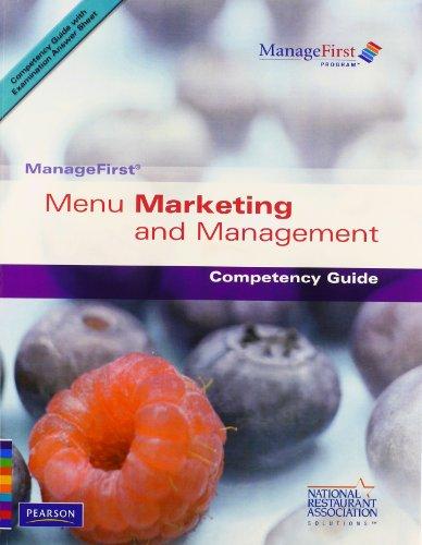9780132222013: Menu Marketing and Management