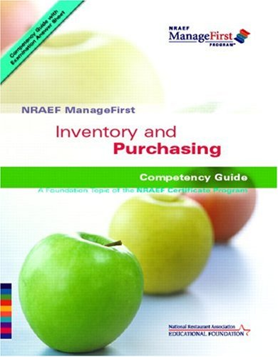 9780132222167: Inventory and Purchasing (NRAEF ManageFirst)