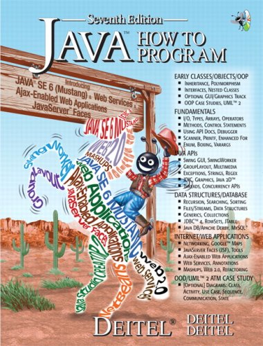 9780132222204: Java How to Program, 7th Edition