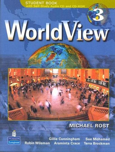 9780132223300: WorldView 3 with Self-Study Audio CD and CD-ROM