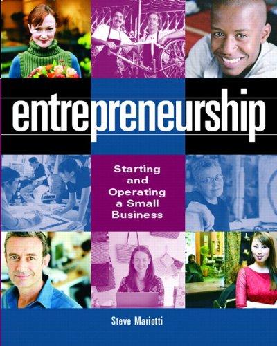 9780132223690: Entrepreneurship: Starting and Operating a Small Business: Starting and Operating a New Business: With Bizbuildercd and Busplanpro Pkg