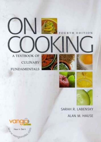 9780132223782: On Cooking: A Textbook of Culinary Fundamentals with Study Guide (4th Edition)