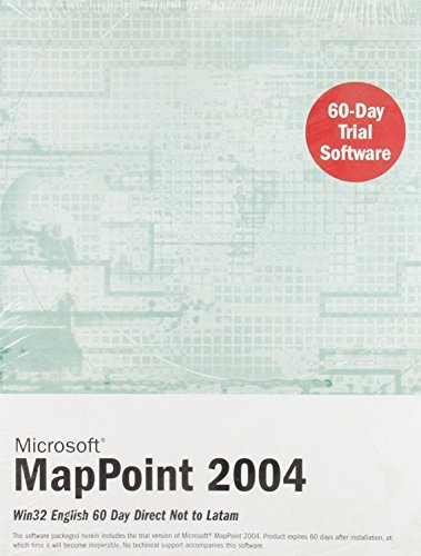 9780132225250: Microsoft MapPoint 2004: Win32 English 60 Day Direct Not to Latam