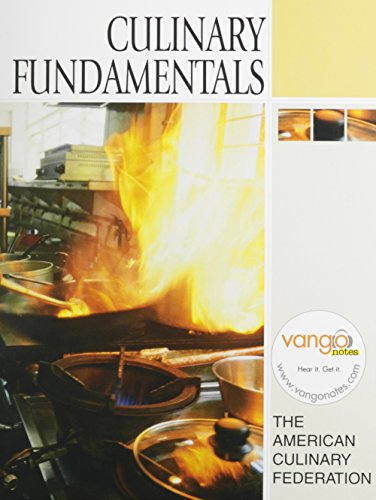 9780132226332: Culinary Fundamentals with Study Guide