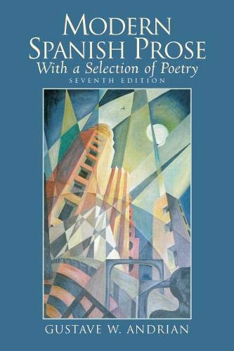 9780132226776: Modern Spanish Prose: With a Selection of Poetry (7th Edition)
