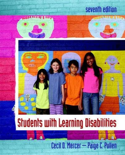 9780132228428: Students with Learning Disabilities